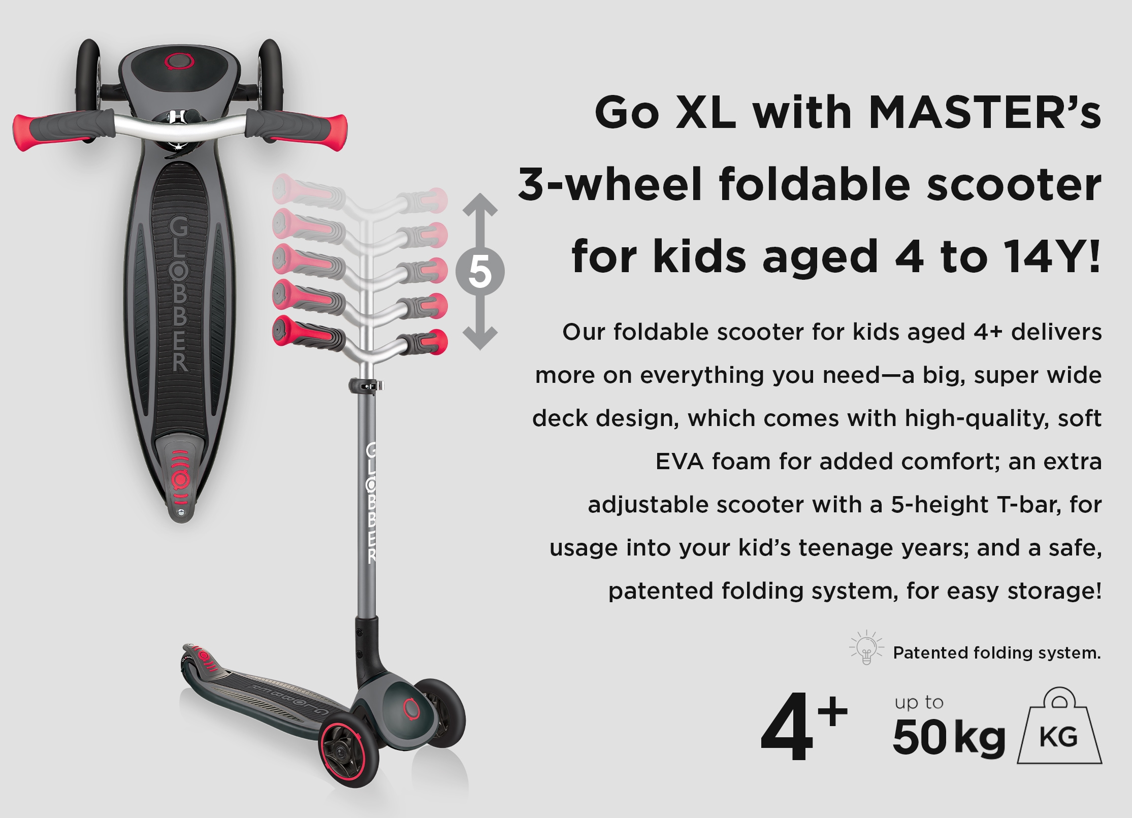 Globber-MASTER-3-wheel-foldable-scooters-for-kids-with-super-wide-deck-and-5-height-adjustable-T-bar