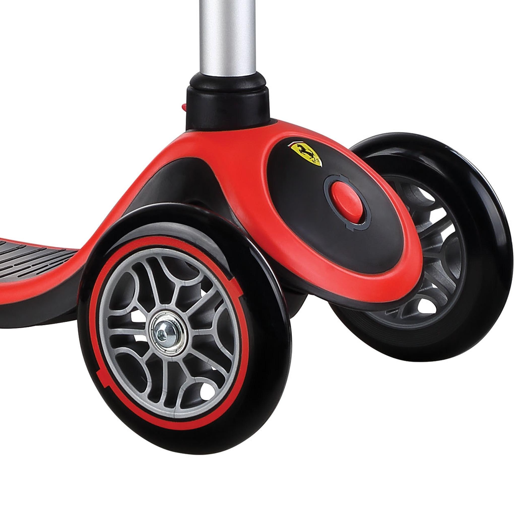ferrari 3 wheel scooter - Globber PRIMO PLUS Ferrari 1