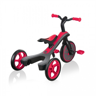 Globber-EXPLORER-TRIKE-2in1-all-in-one-training-tricycle-and-kids-balance-bike-with-patented-wheel-mechanism-transformation thumbnail 3