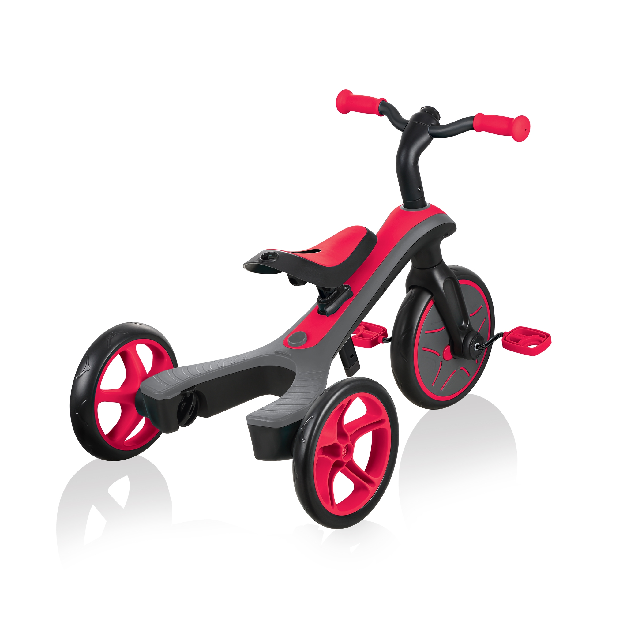 Globber-EXPLORER-TRIKE-2in1-all-in-one-training-tricycle-and-kids-balance-bike-with-patented-wheel-mechanism-transformation 3