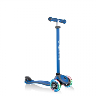 GO-UP-COMFORT-LIGHTS-scooter-with-seat-with-adjustable-T-bar-navy-blue thumbnail 4
