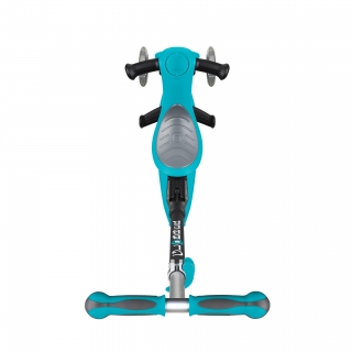 GO-UP-DELUXE-ride-on-walking-bike-scooter-with-extra-wide-3-height-adjustable-seat-teal thumbnail 2