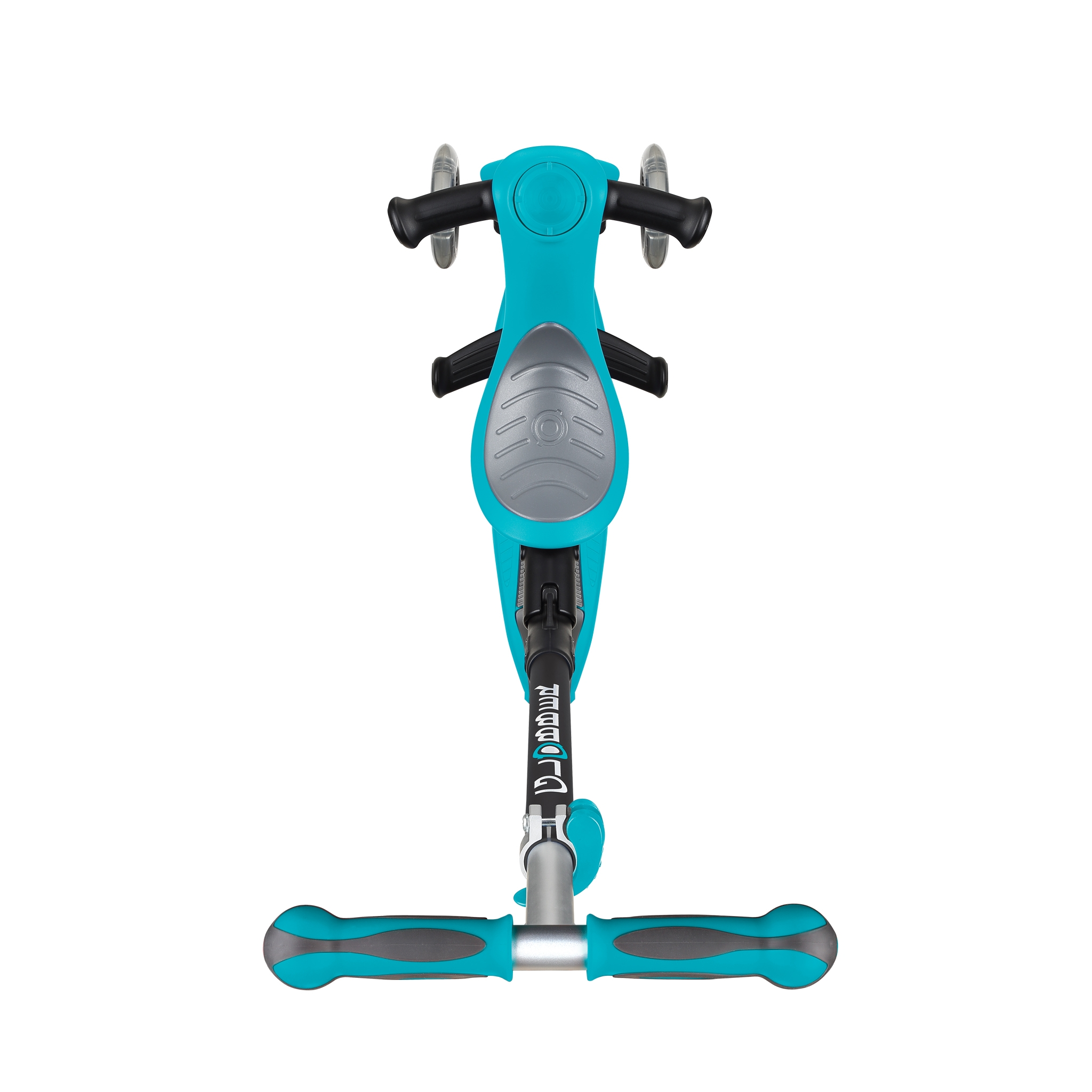 GO-UP-DELUXE-ride-on-walking-bike-scooter-with-extra-wide-3-height-adjustable-seat-teal 2