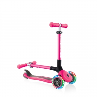 3-wheel-folding-light-up-scooter-for-toddlers-JUNIOR-FOLDABLE-LIGHTS thumbnail 3
