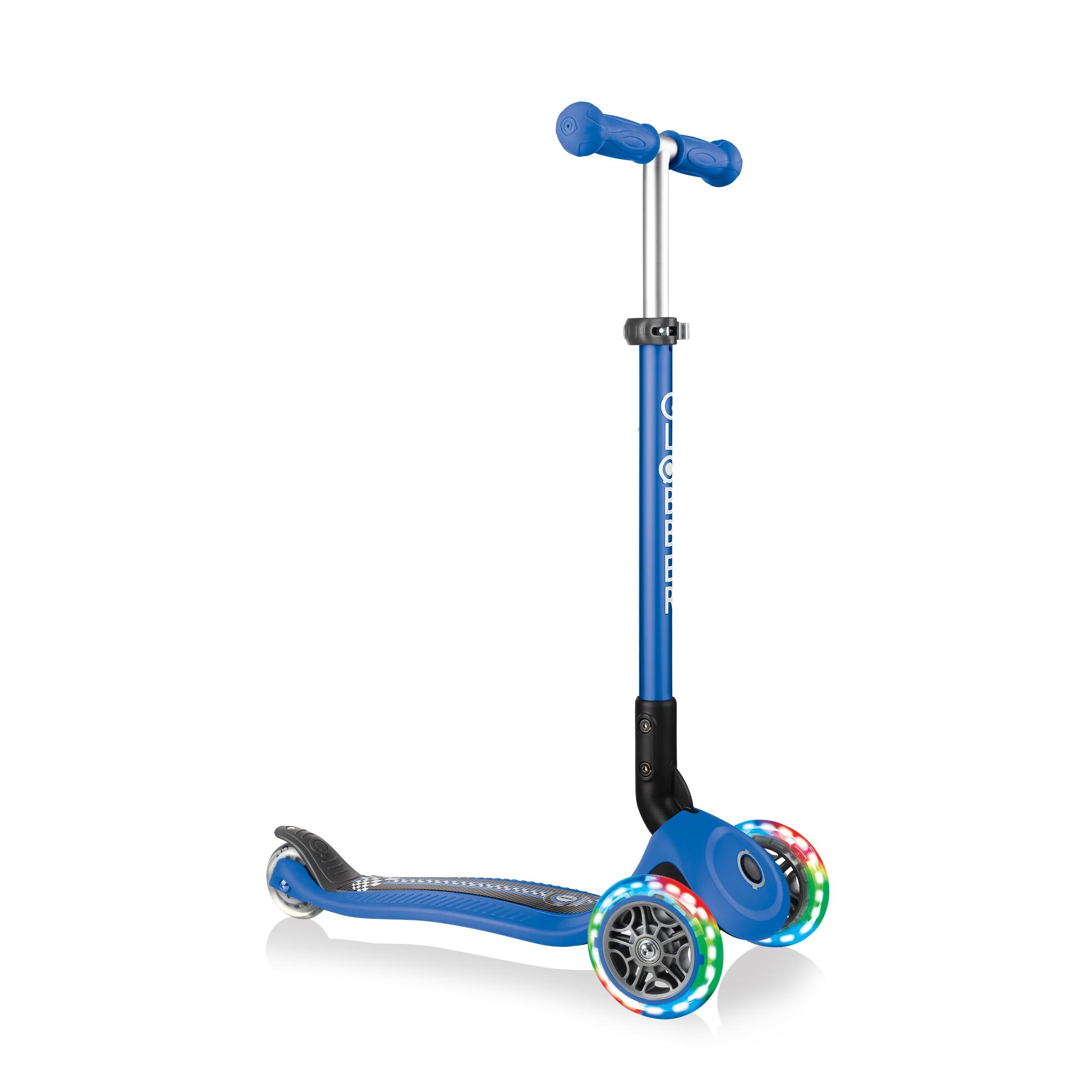 primo-foldable-fantasy-lights-3-wheel-scooter-for-kids 0
