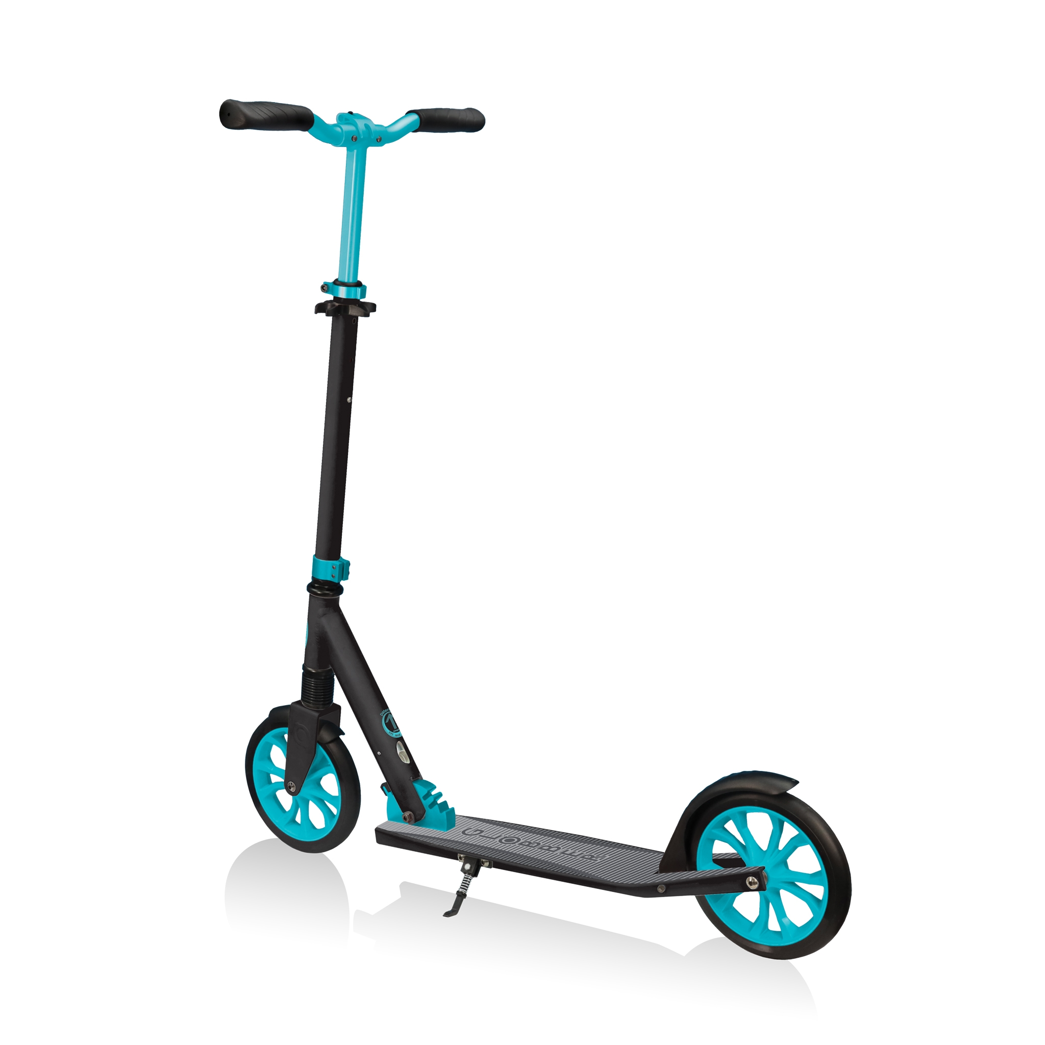 Globber-NL-205-big-wheel-scooter-for-kids-with-front-suspension 4