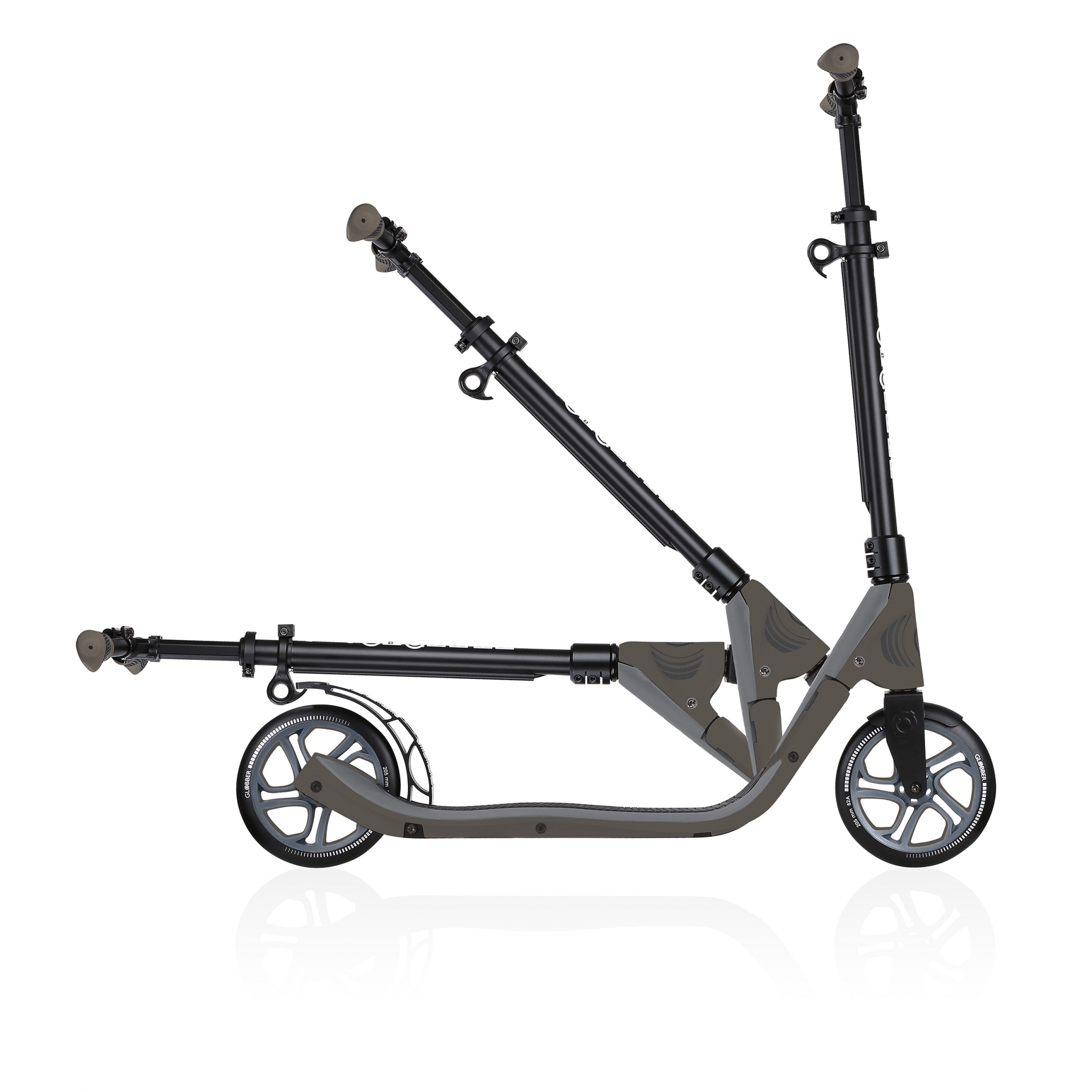 2-wheel foldable scooter for adults - Globber ONE NL 205 2
