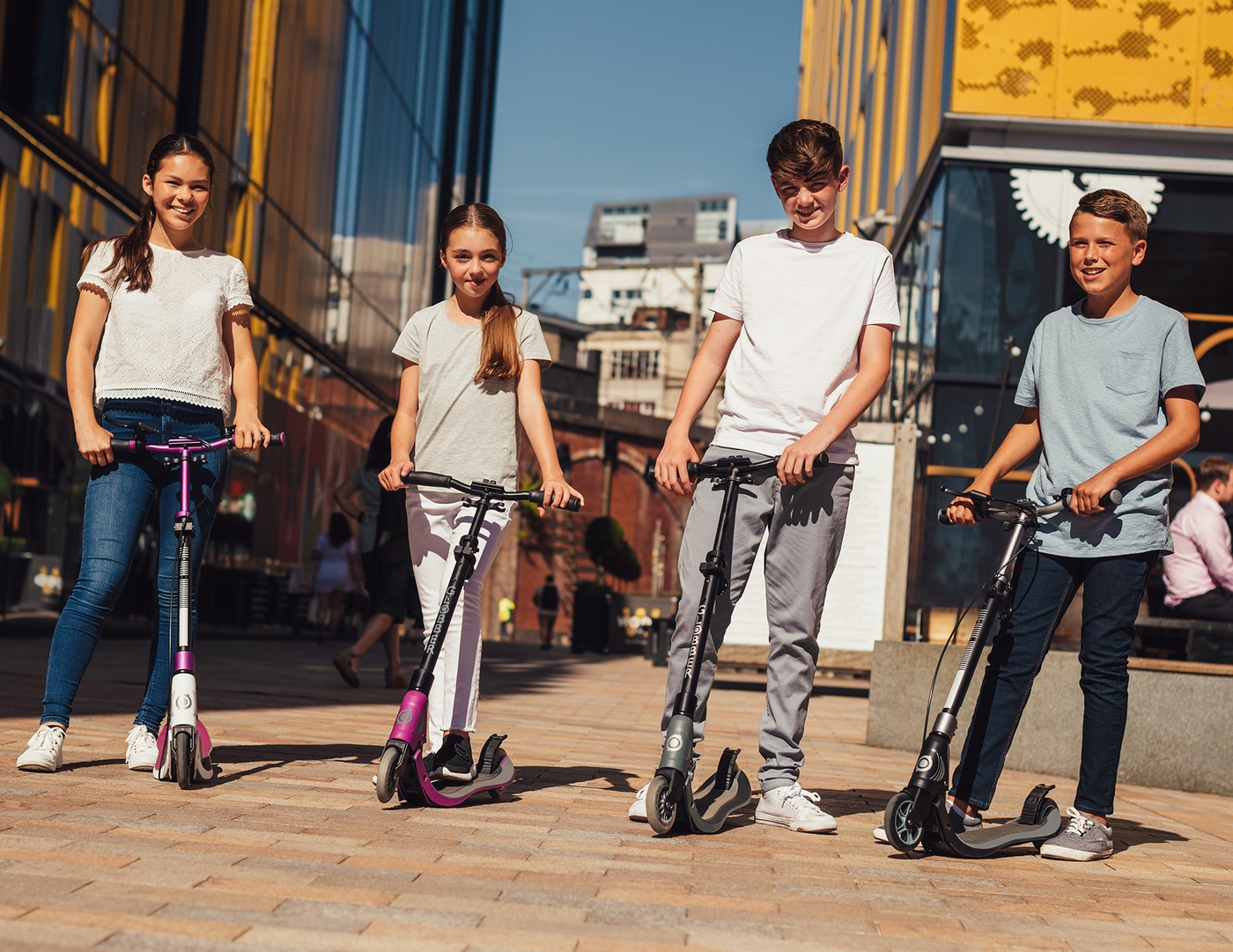 collapsible scooters for adults & teens