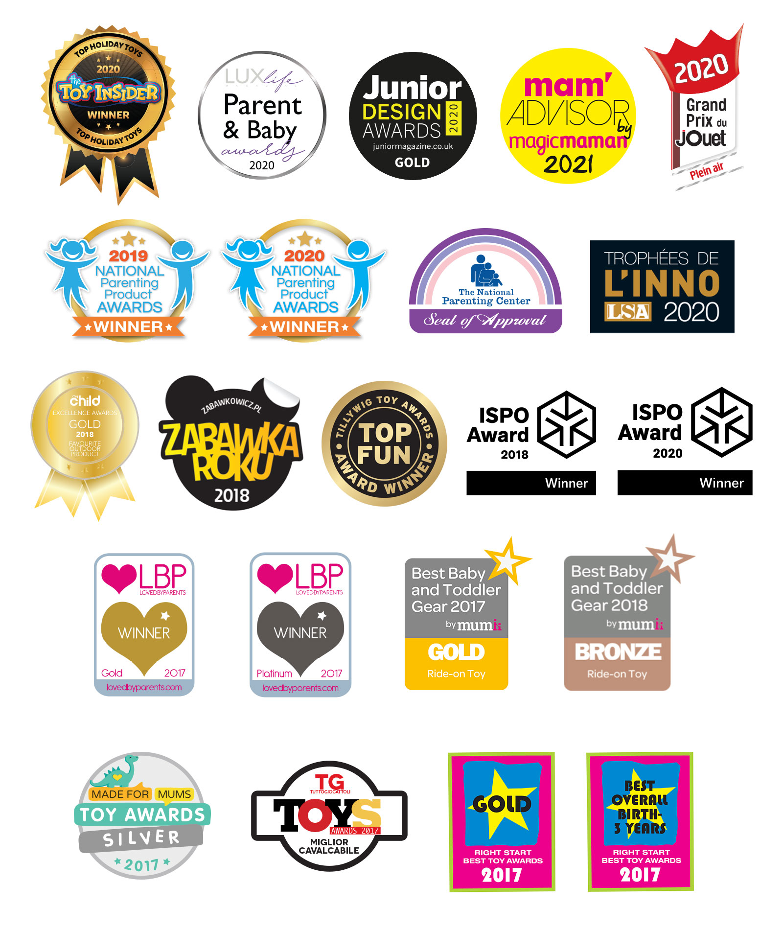 Globber award-winning brand