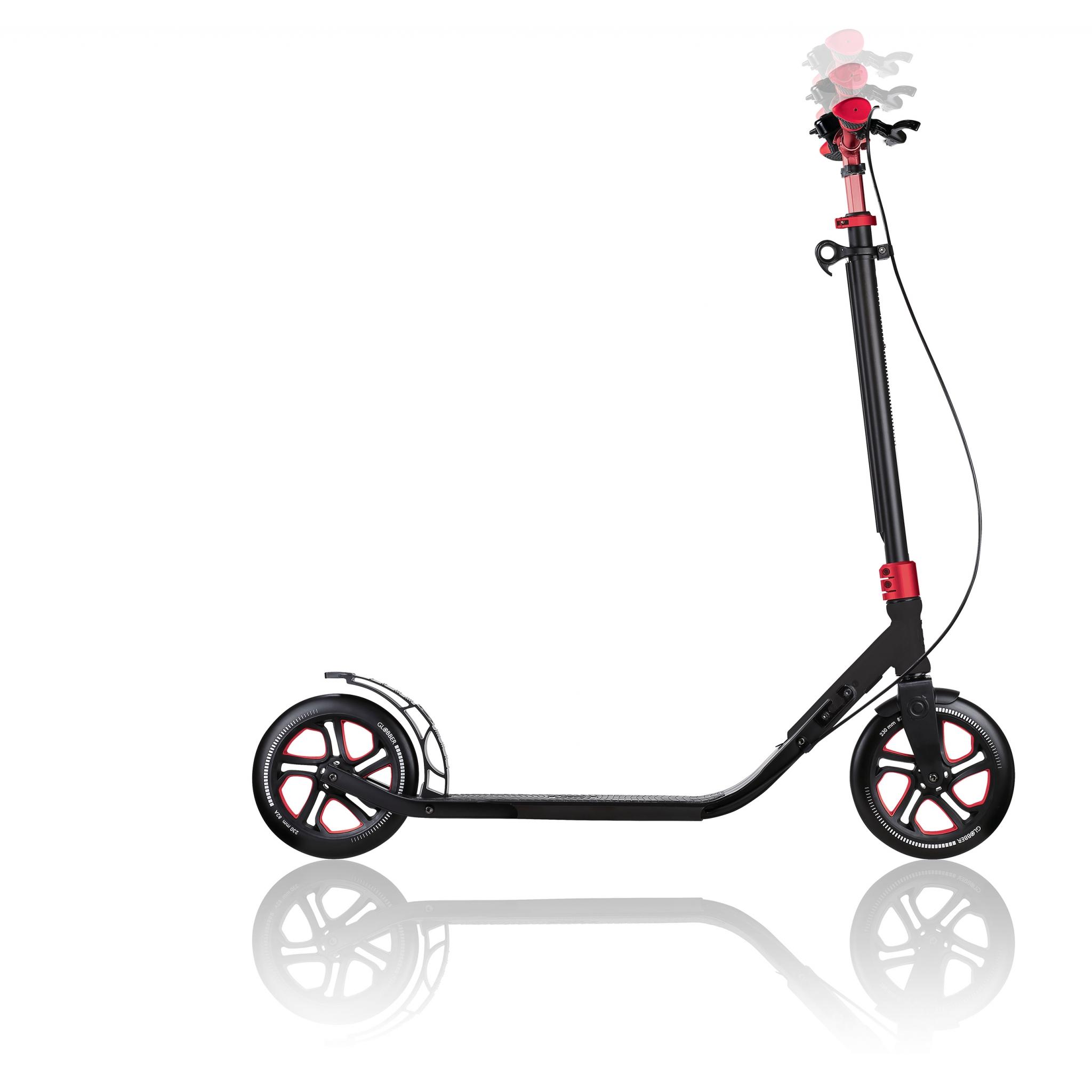 big wheel kick scooter - Globber ONE NL 230 ULTIMATE 4