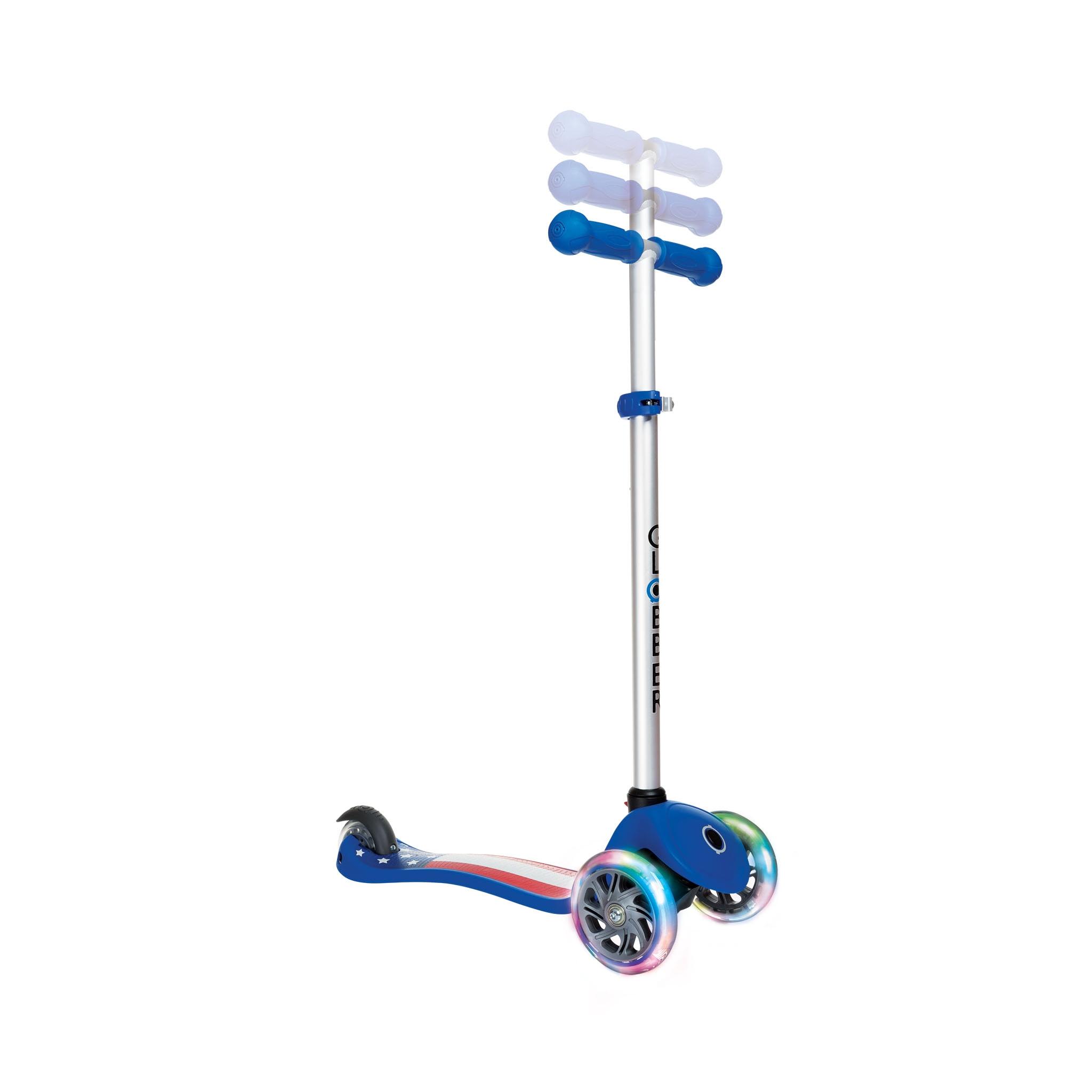 3 wheel light up scooter - Globber PRIMO FANTASY LIGHTS 1