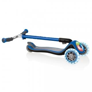 Globber-ELITE-PRIME-easy-foldable-3-wheel-scooter-for-kids-aged-3+-navy-blue thumbnail 4