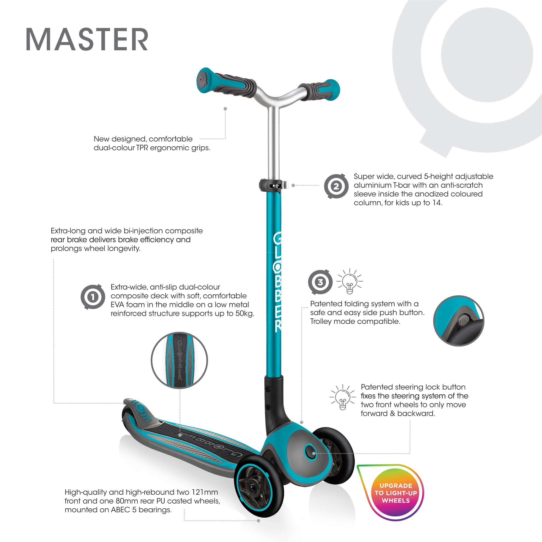 Globber-MASTER-premium-3-wheel-scooter-for-kids-aged-4-to-14 1