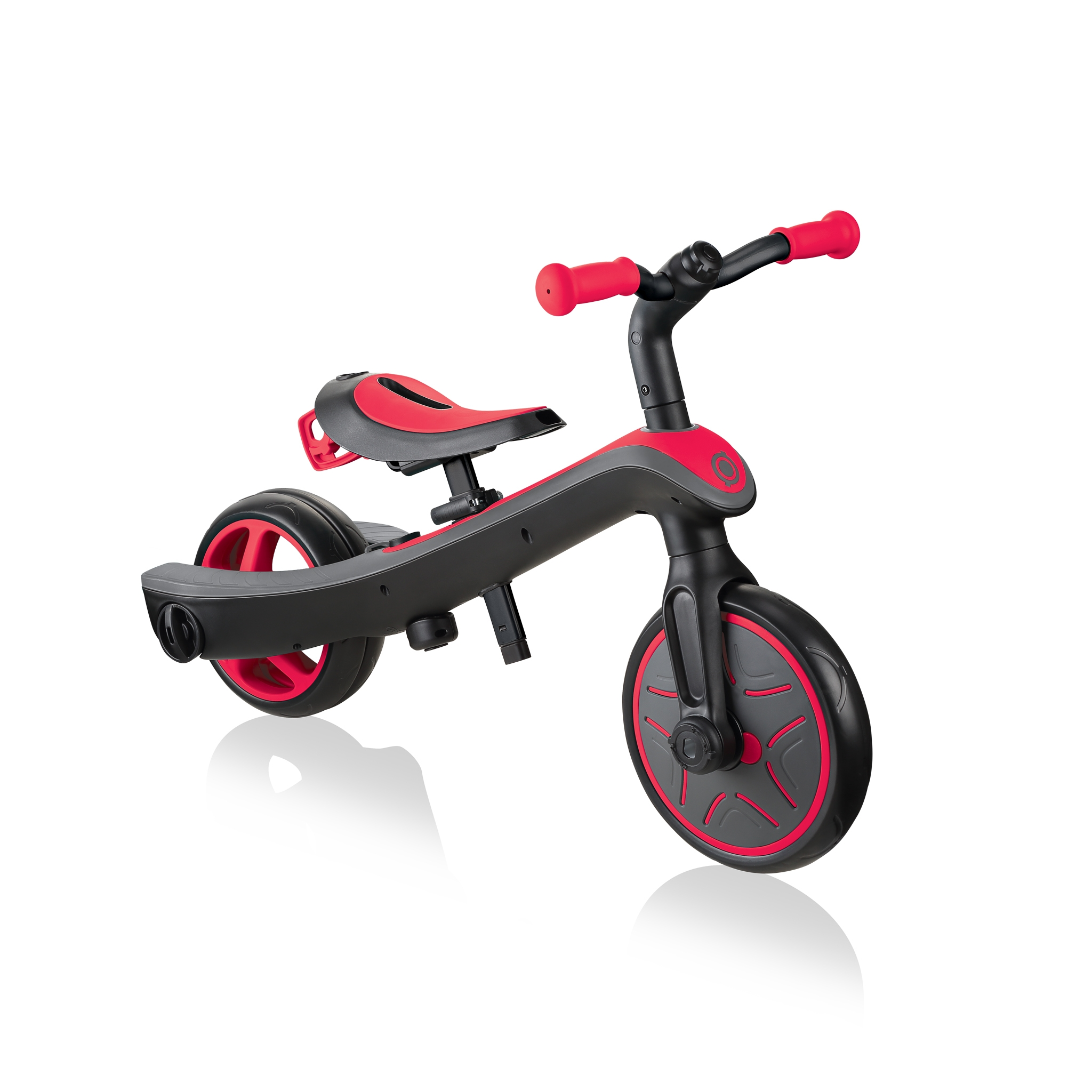 Globber-EXPLORER-TRIKE-2in1-all-in-one-training-tricycle-and-kids-balance-bike-stage2-balance-bike_new-red 1