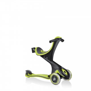 GO-UP-COMFORT-scooter-with-seat-walking-bike-lime-green thumbnail 2