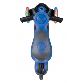GO-UP-COMFORT-LIGHTS-scooter-with-seat-extra-wide-seat-for-maximum-comfort-navy-blue thumbnail 3