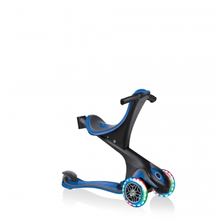 GO-UP-COMFORT-LIGHTS-scooter-with-seat-walking-bike-navy-blue thumbnail 2