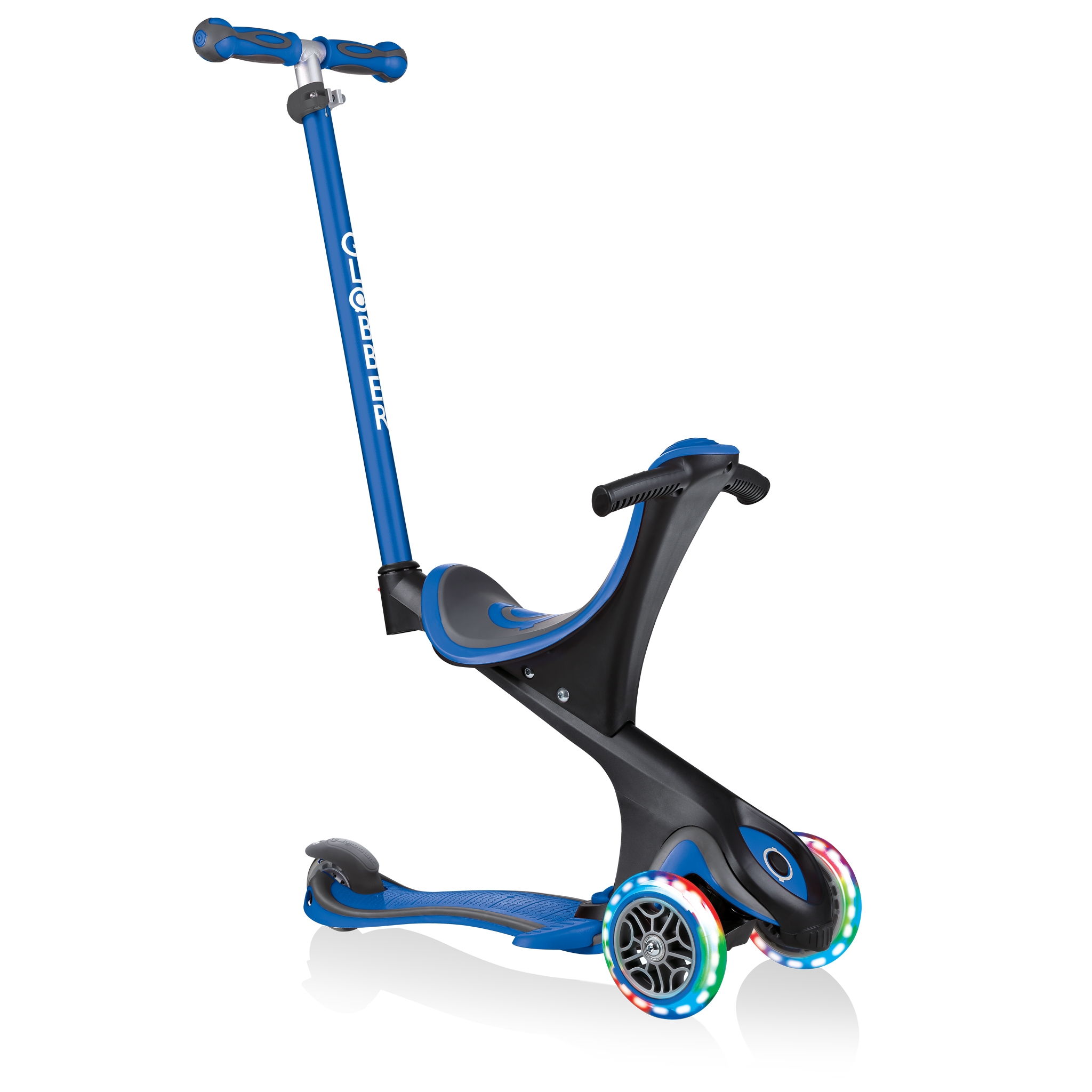 GO-UP-COMFORT-LIGHTS-scooter-with-seat-with-extra-wide-seat-navy-blue 0