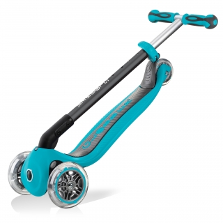 GO-UP-DELUXE-PLAY-ride-on-walking-bike-scooter-with-light-and-sound-module-trolley-mode-compatible-teal thumbnail 5