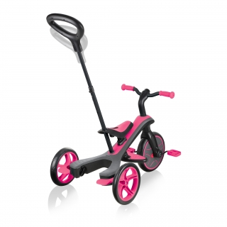 Globber-EXPLORER-TRIKE-4in1-all-in-one-baby-tricycle-and-kids-balance-bike-with-2-height-adjustable-parent-handle thumbnail 5