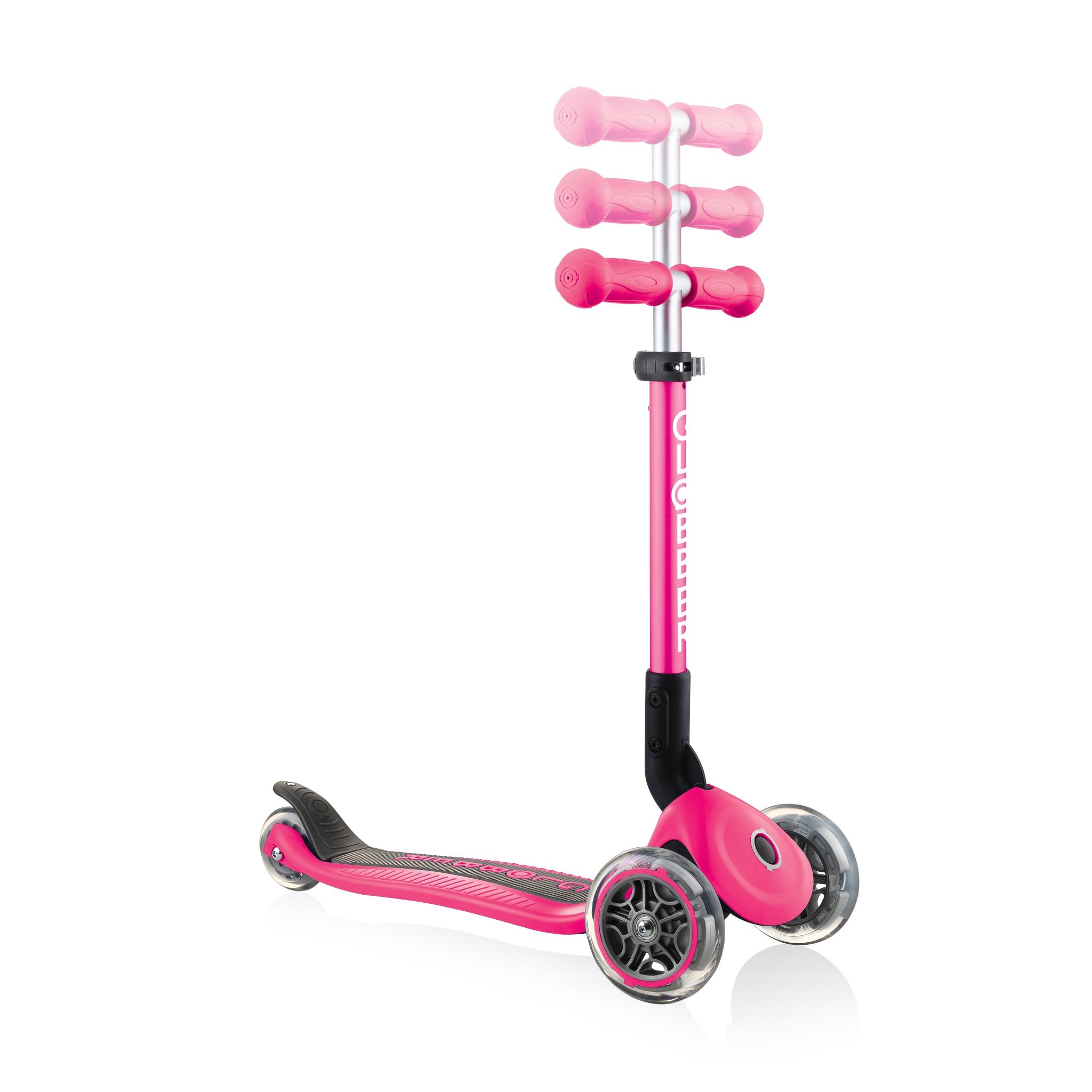 adjustable-3-wheel-scooter-for-toddlers-Globber-JUNIOR-FOLDABLE 5