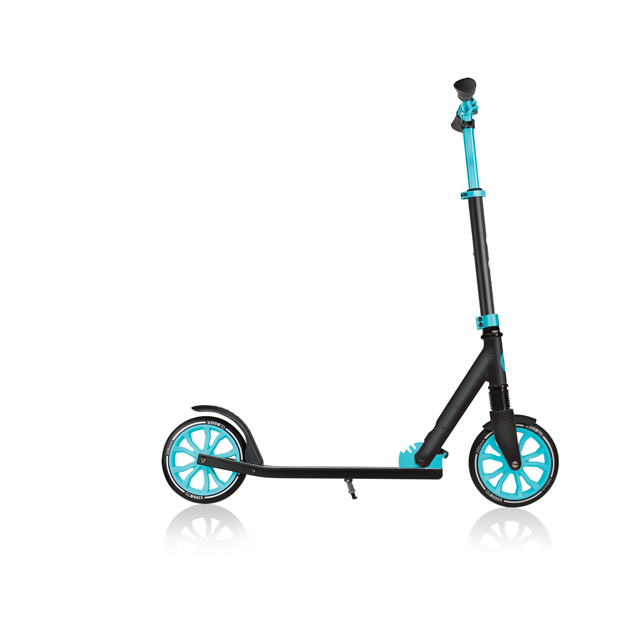 Globber-NL-205-collapsible-2-wheel-scooter-for-kids-with-big-wheels-205mm 3