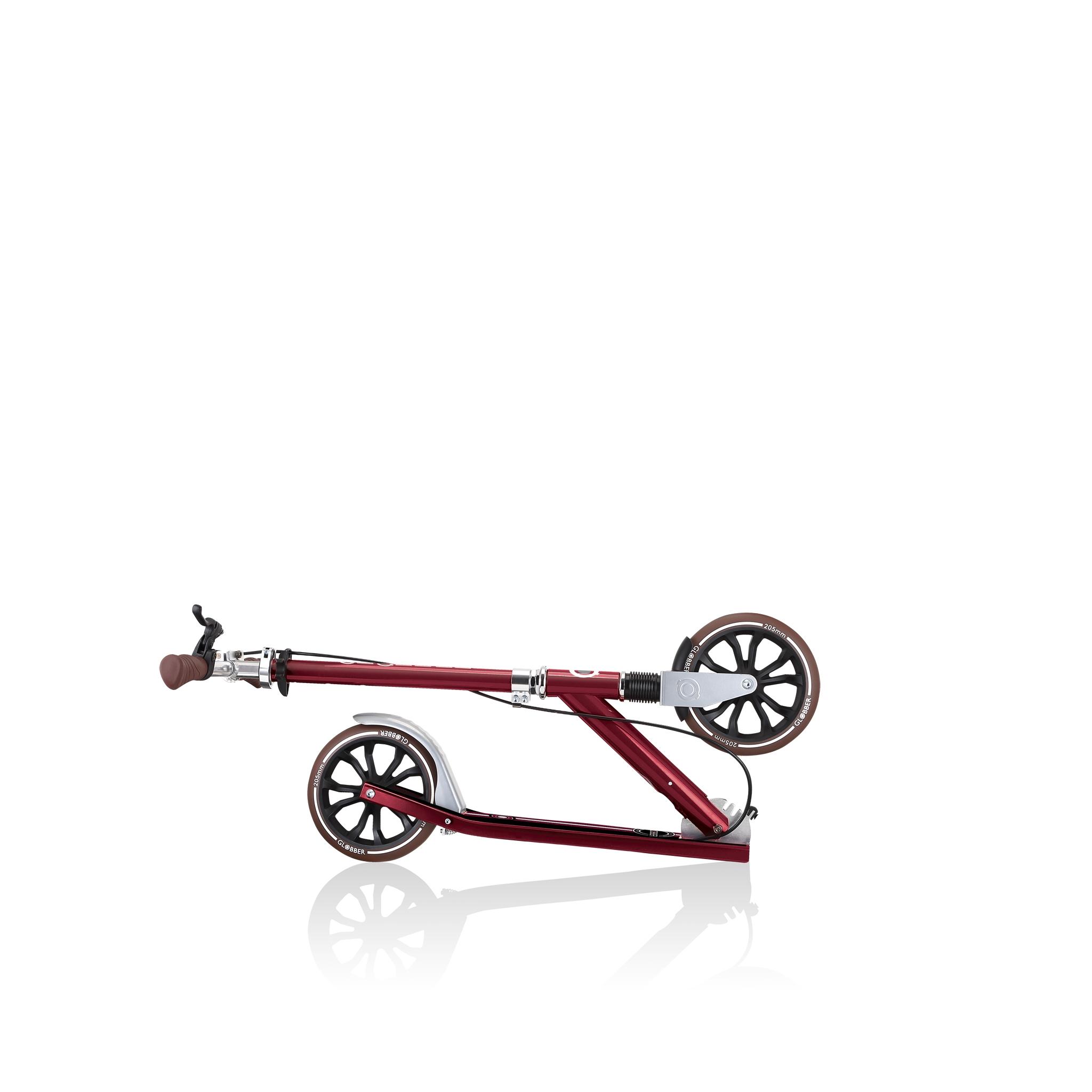 Globber-NL-205-DELUXE-foldable-big-wheel-scooter-for-kids 1