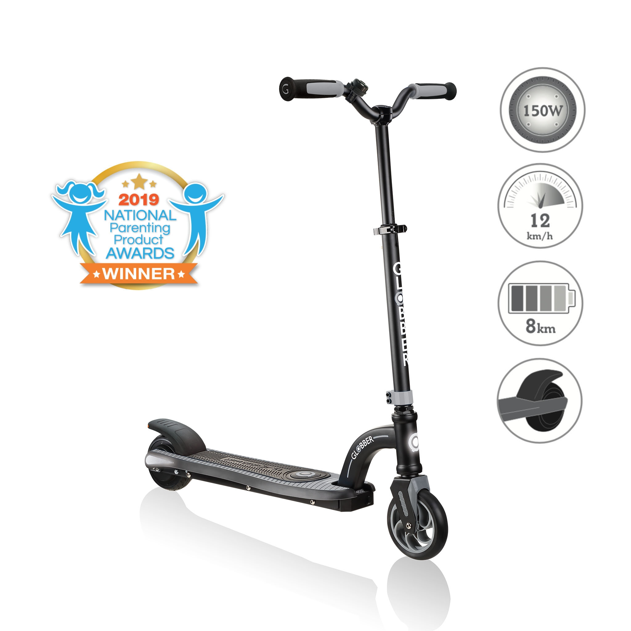Globber-ONE-K-E-MOTION-10-best-electric-scooter-for-kids-aged-8-to-14 0