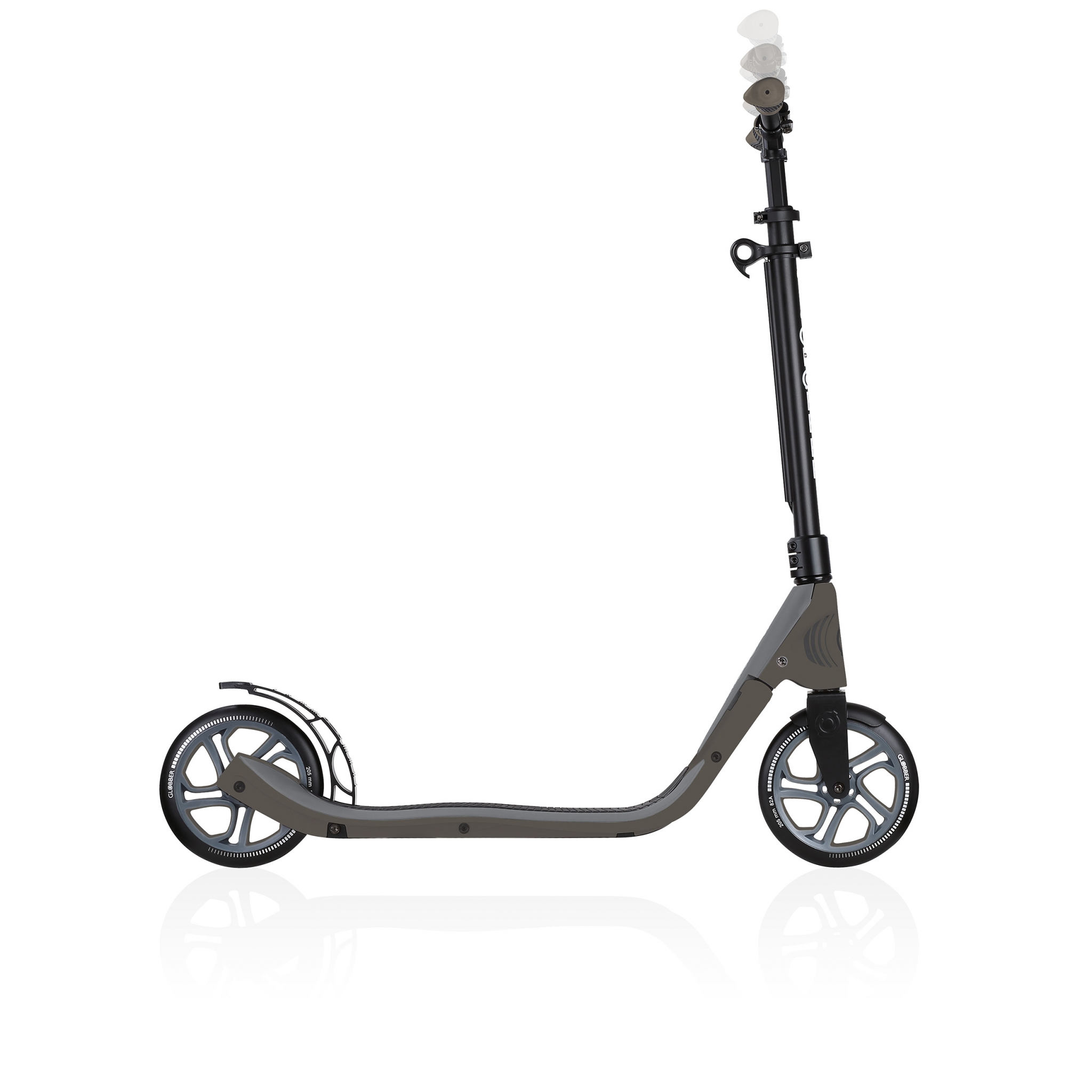 2-wheel foldable scooter for adults - Globber ONE NL 205 3