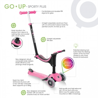 Product (hover) image of GLOBBER GO UP SPORTY PLUS LIGHTS