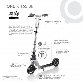 Product (hover) image of GLOBBER ONE K 165  BR