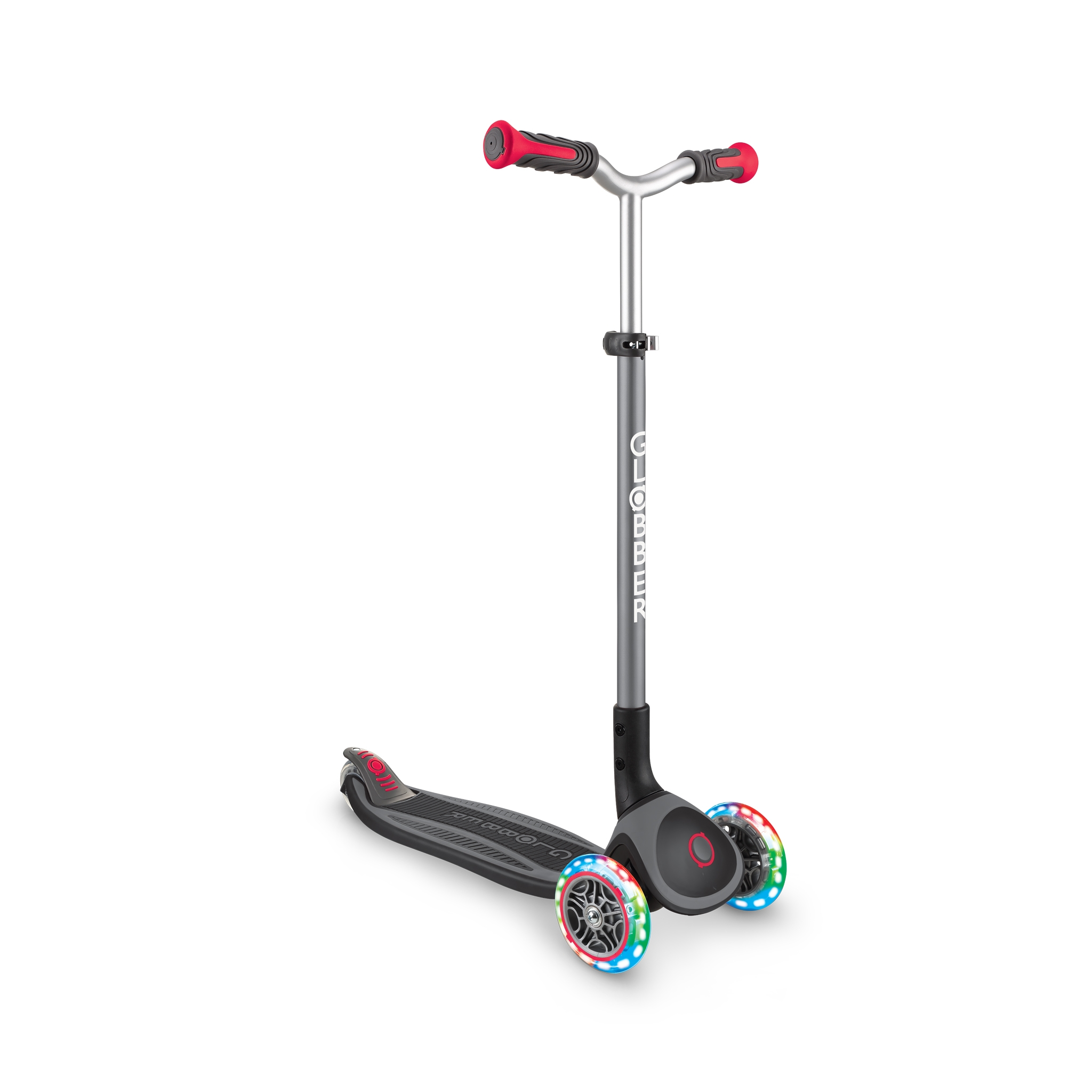Globber-MASTER-LIGHTS-premium-3-wheel-foldable-light-up-scooter-for-kids-aged-4-to-14_black-red 4