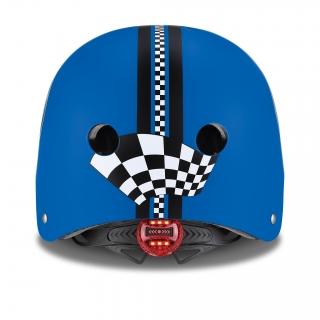 ELITE-helmets-scooter-helmets-for-kids-with-LED-lights-safe-helmet-for-kids-navy-blue thumbnail 2