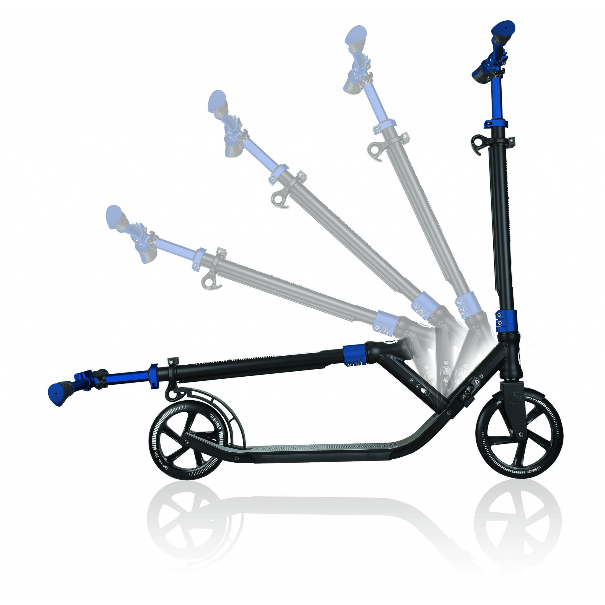 Globber-ONE-NL-205-180-DUO-2-wheel-foldable-scooter-for-adults-1-second-fold-up-scooter-cobalt-blue