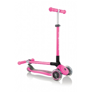PRIMO-FOLDABLE-3-wheel-fold-up-scooter-for-kids-neon-pink thumbnail 0