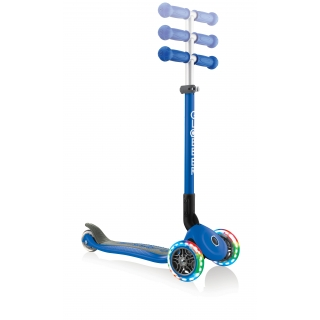 PRIMO-FOLDABLE-LIGHTS-adjustable-scooter-for-kids-navy-blue thumbnail 5