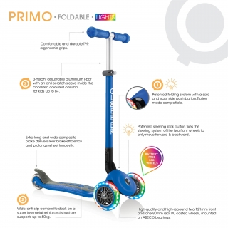 -PRIMO FOLDABLE LIGHTS