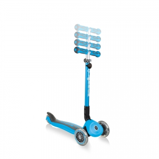 GO-UP-DELUXE-GO-UP-DELUXE-ride-on-walking-bike-scooter-with-4-height-adjustable-T-bar-sky-blue thumbnail 4