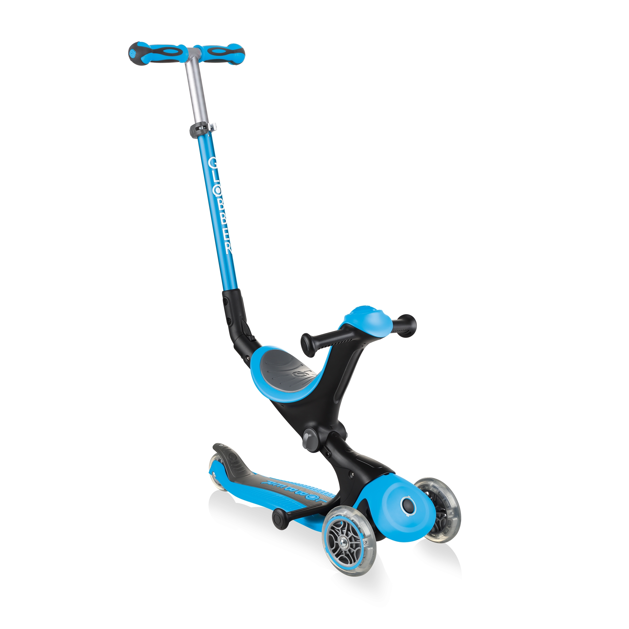 GO-UP-DELUXE-ride-on-walking-bike-scooter-sky-blue 0