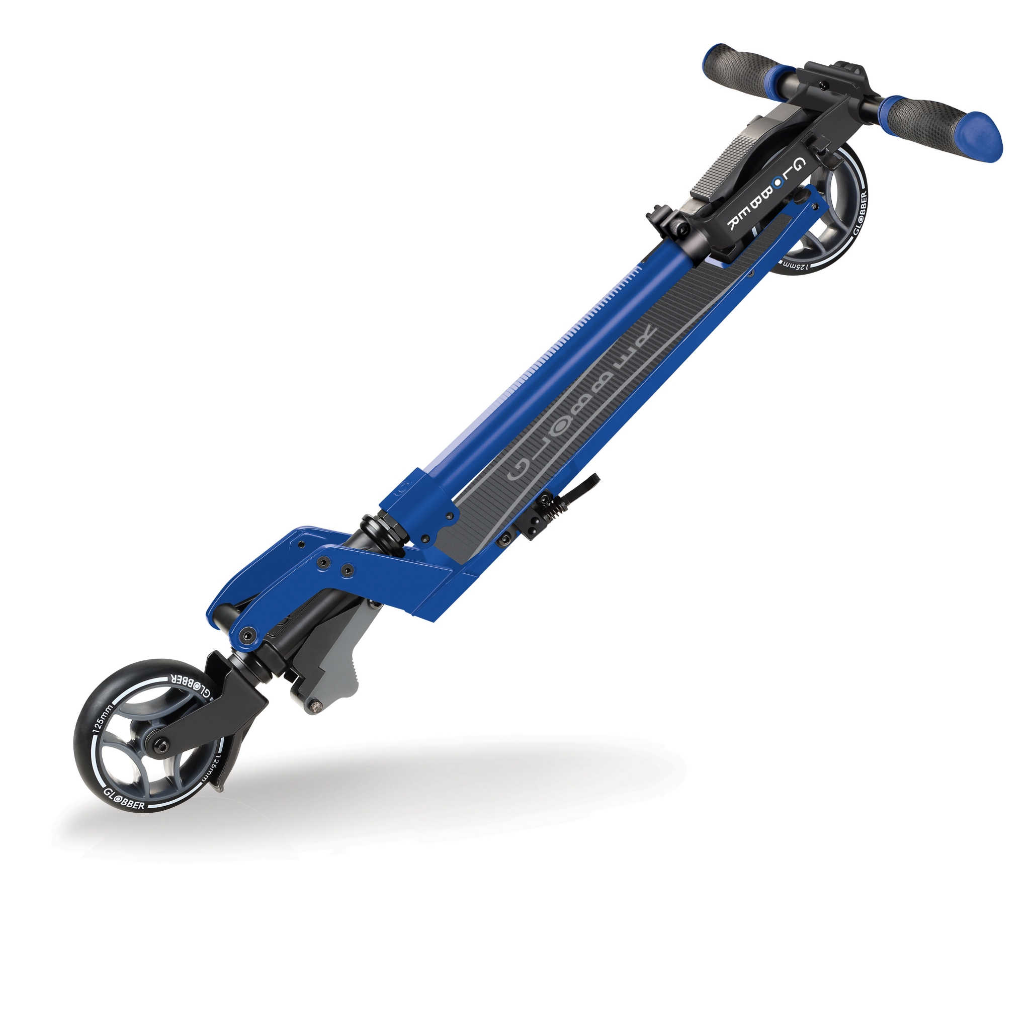 ONE-K-125-2-wheel-teen-scooter-with-1-second-patented-kick-and-fold-collapsing-system_blue 2
