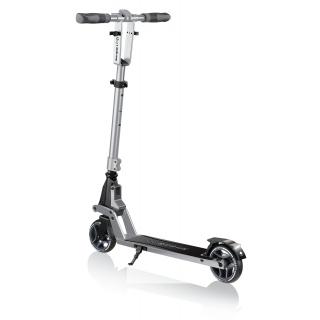 ONE-K-125-2-wheel-foldable-scooter-with-3-height-adjustable-T-bar_silver thumbnail 5