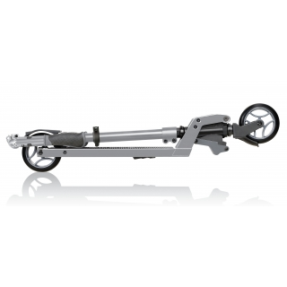 ONE-K-125-2-wheel-teen-scooter-foldable-scooter-and-handlebars_silver thumbnail 3