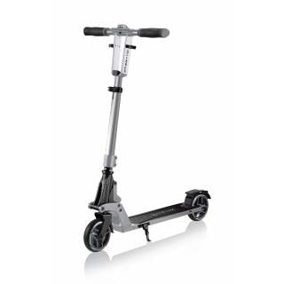 ONE-K-125-kick-and-fold-2-wheel-foldable-scooter-for-kids-and-teens-aged-8-and-above_silver thumbnail 0
