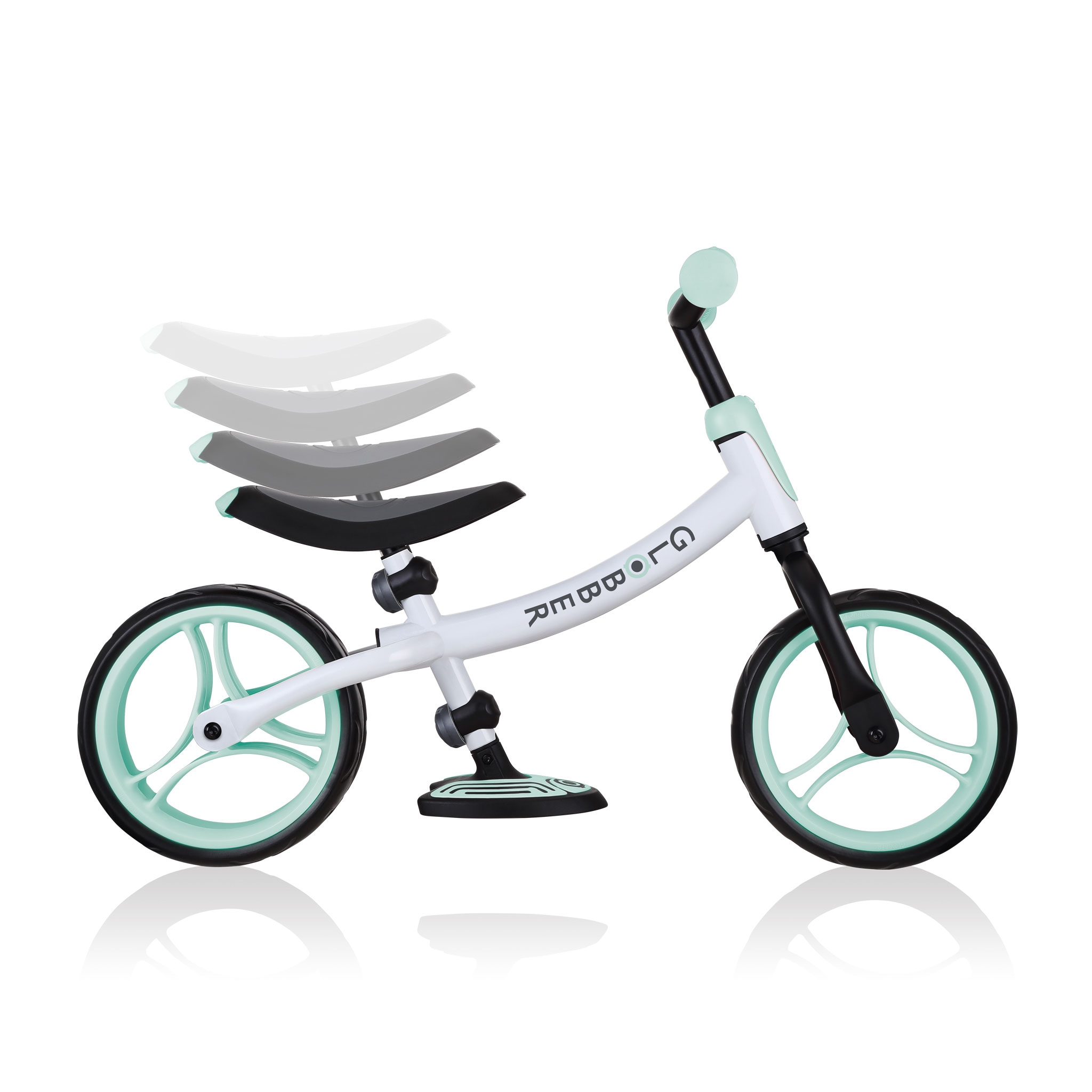 GO-BIKE-DUO-adjustable-balance-bike-for-toddlers-and-kids-with-8-height-adjustable-seat-and-2-height-adjustable-handlebars_mint 2