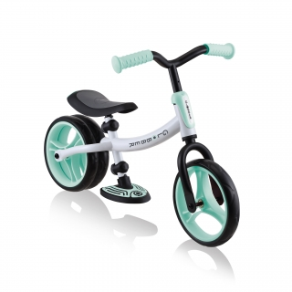 GO-BIKE-DUO-best-toddler-balance-bike-for-girls-and-boys-aged-2-to-5-with-dual-rear-wheel_mint thumbnail 0