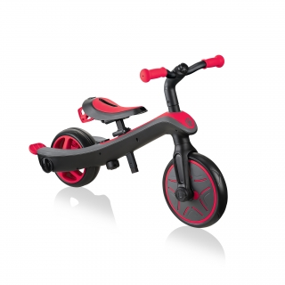 Globber-EXPLORER-TRIKE-4in1-all-in-one-baby-tricycle-and-kids-balance-bike-stage4-balance-bike thumbnail 3