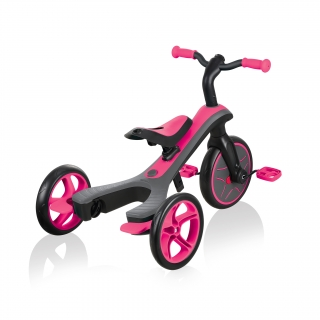 Globber-EXPLORER-TRIKE-4in1-all-in-one-baby-tricycle-and-kids-balance-bike-with-patented-wheel-mechanism-transformation thumbnail 7
