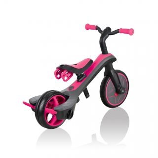 Globber-EXPLORER-TRIKE-4in1-all-in-one-baby-tricycle-and-kids-balance-bike-with-smart-pedal-storage thumbnail 8