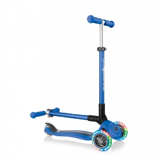 primo-foldable-fantasy-lights-foldable-3-wheel-scooter-with-light-up-wheels thumbnail 4