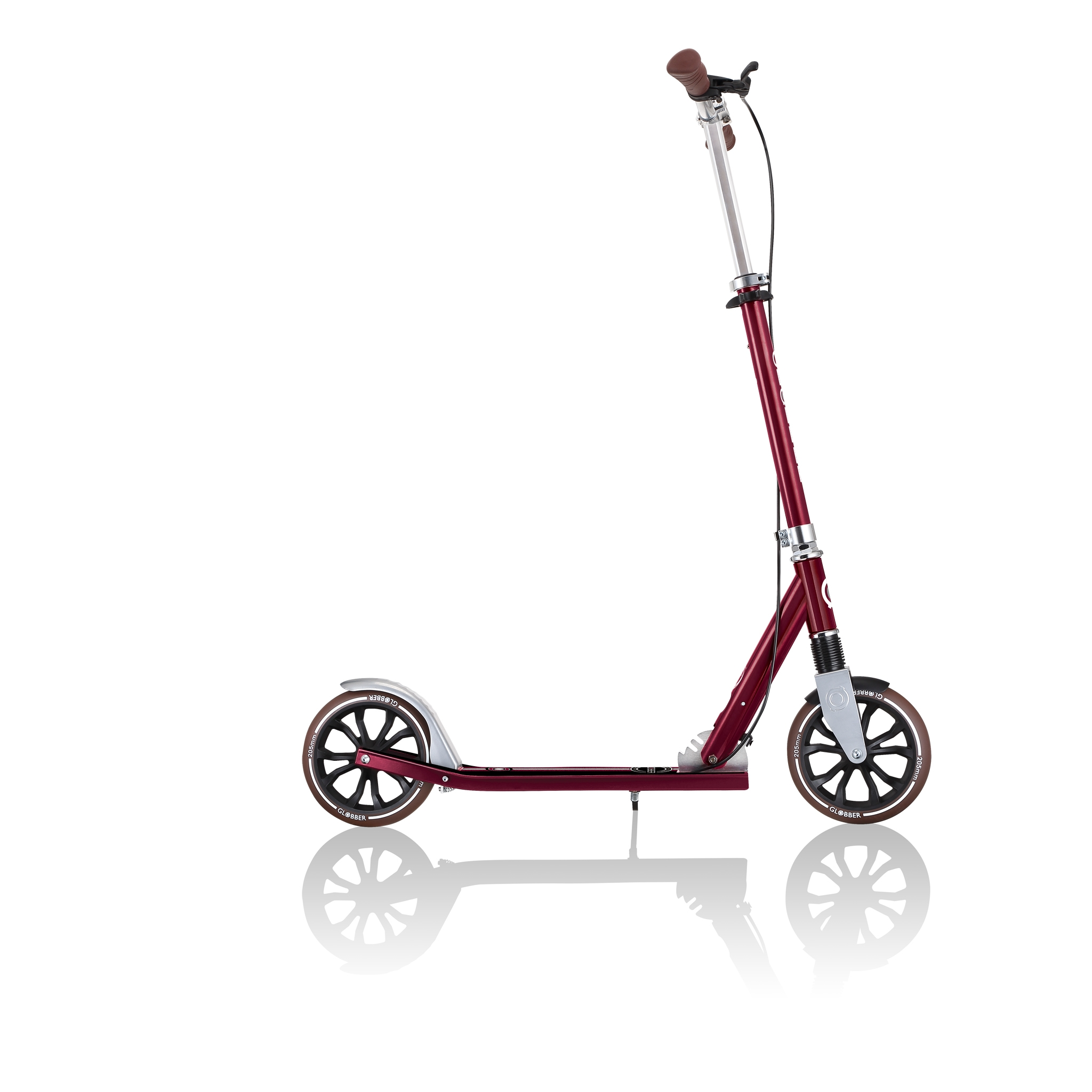 Globber-NL-205-DELUXE-collapsible-2-wheel-scooter-for-kids-with-big-wheels-205mm 5